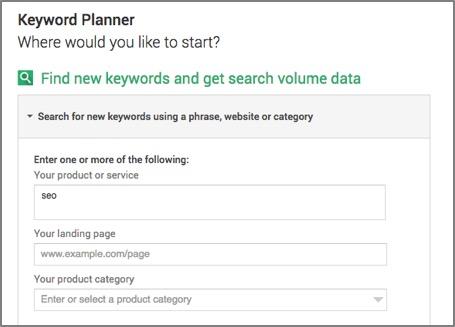 Finding new keywords