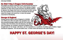 Happy St Georges Day from Red Cow Media
