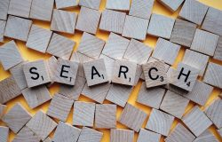 Search wooden letters