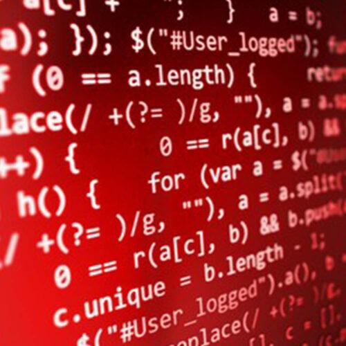red website javascript code